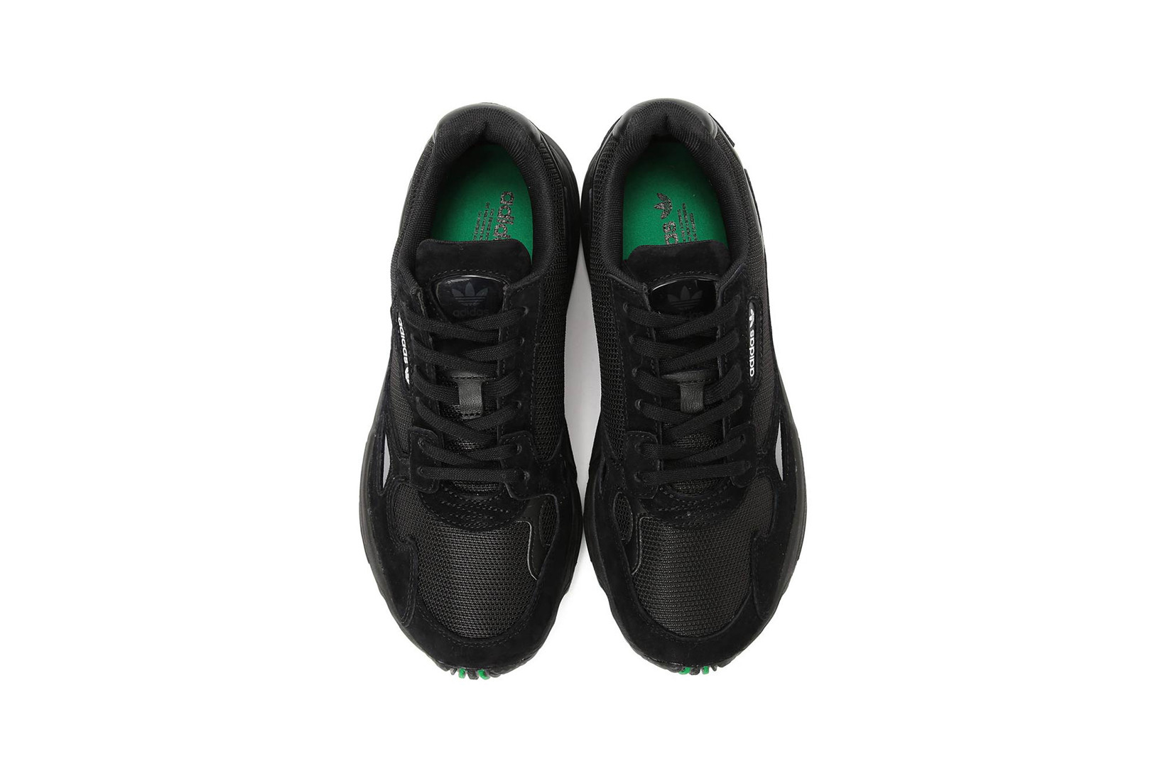 BEAMS x adidas Falcon in Black and