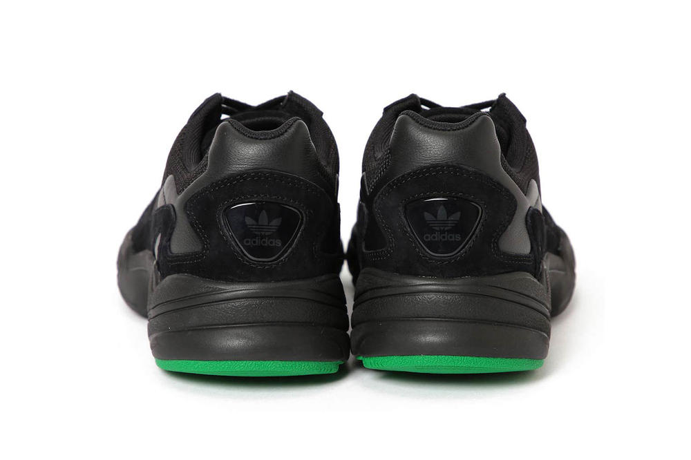 BEAMS adidas Originals Falcon Black Green
