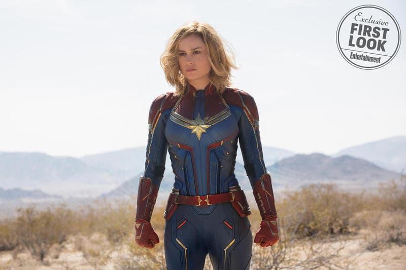 Brie Larson Captain Marvel Preview