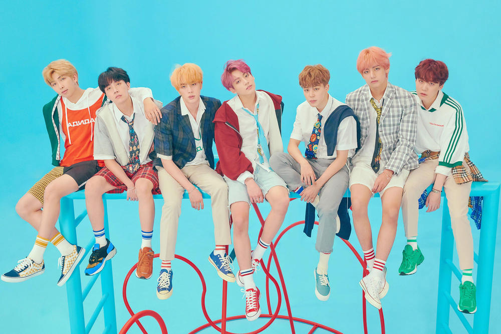 BTS Love Yourself Answer Concept Photo