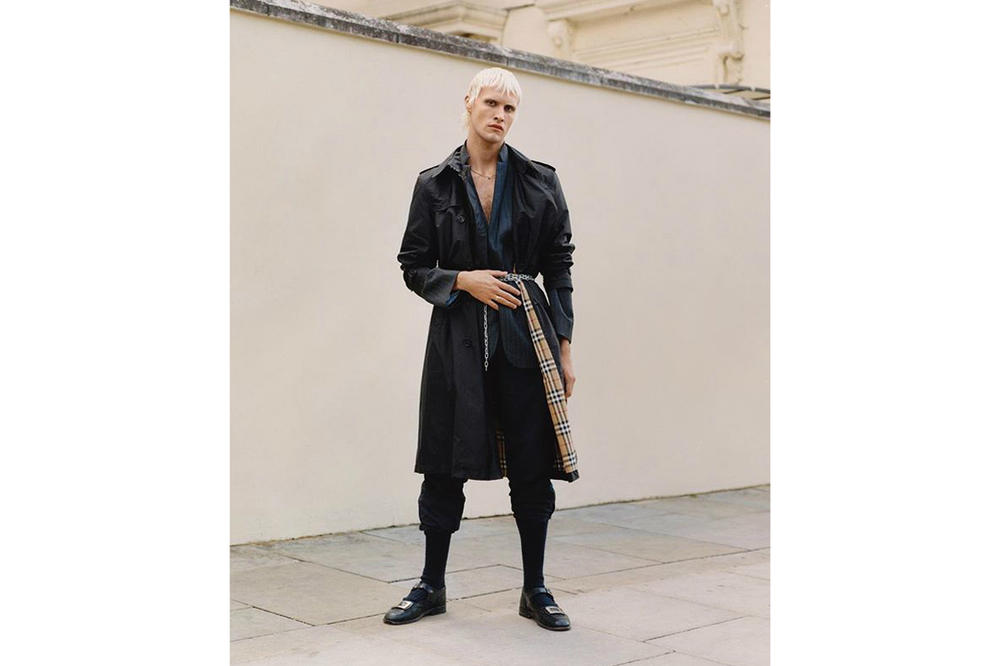 Burberry Spring/Summer 2019 B Series Capsule Collection Lightweight Trench Black