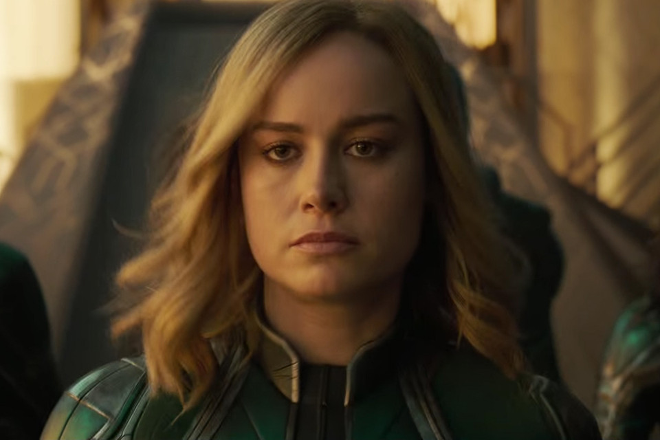 Watch First Official Captain Marvel Trailer Hypebae