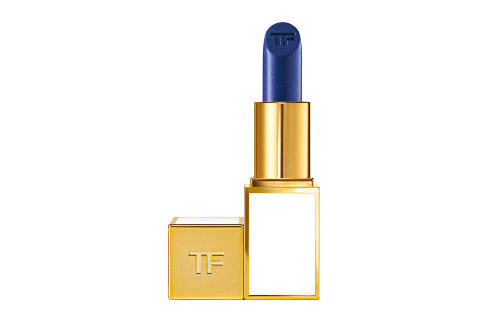 Cardi B Tom Ford Lipstick Blue Beauty Makeup NYFW New York Fashion Week Fall Winter 2018