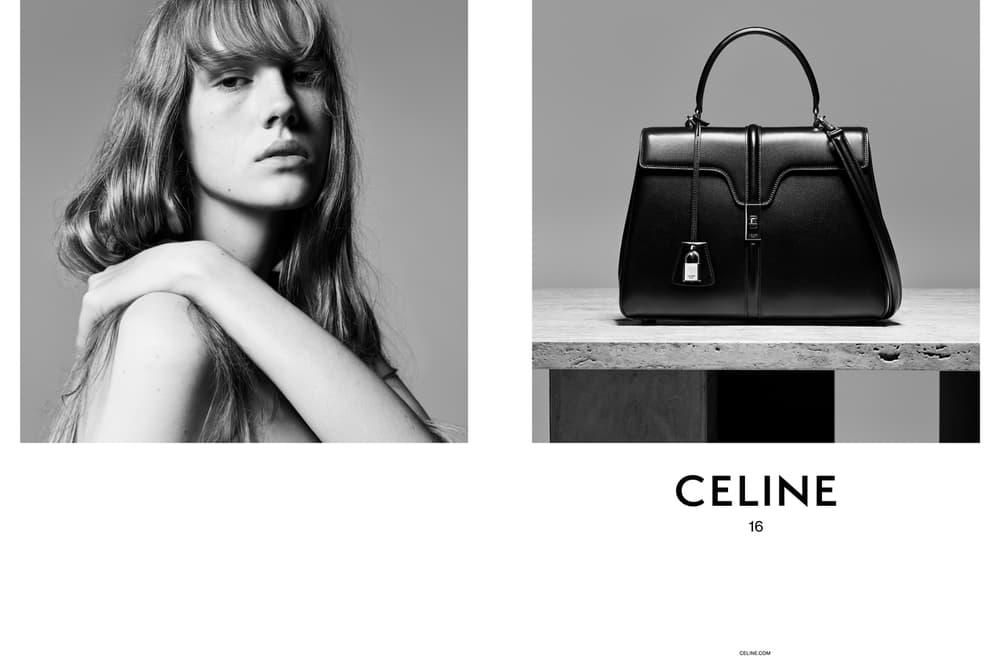 Celine 16 Handbag Hedi Slimane Black