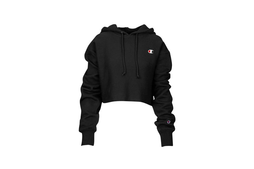 636eb933a5f8 Buy Champion s Cropped Hoodie in Gray and Black