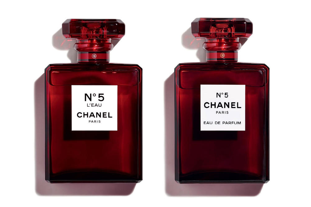 chanel no 5 eau de parfum to release in red hypebae. Black Bedroom Furniture Sets. Home Design Ideas