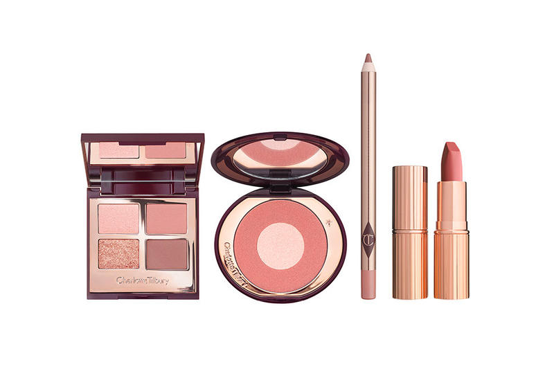 Charlotte Tilbury Pillow Talk Blush Eyeshadow Palette Lipstick Makeup Beauty Cosmetics