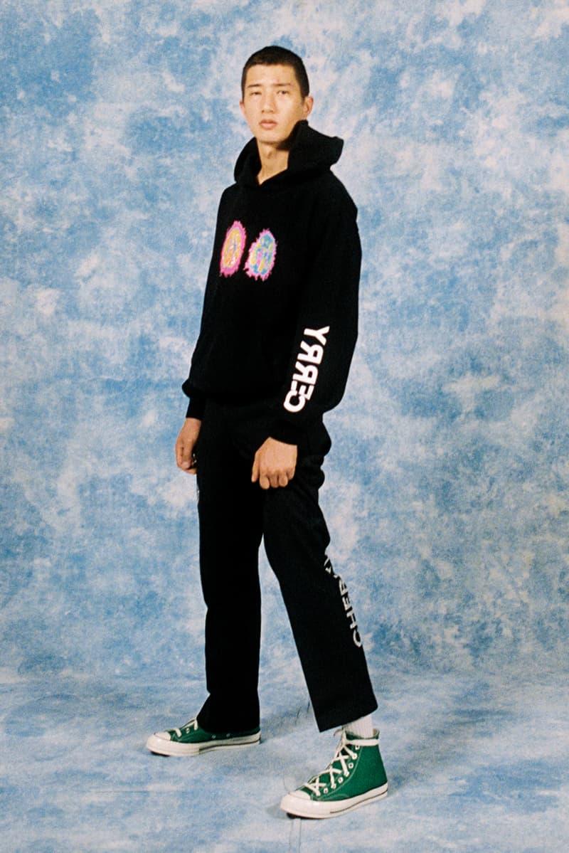 Cherry Los Angeles ADHD Collection Lookbook Hoodie Sweatpants Black
