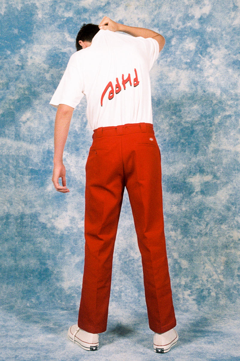 Cherry Los Angeles ADHD Collection Lookbook Shirt White Pants Red