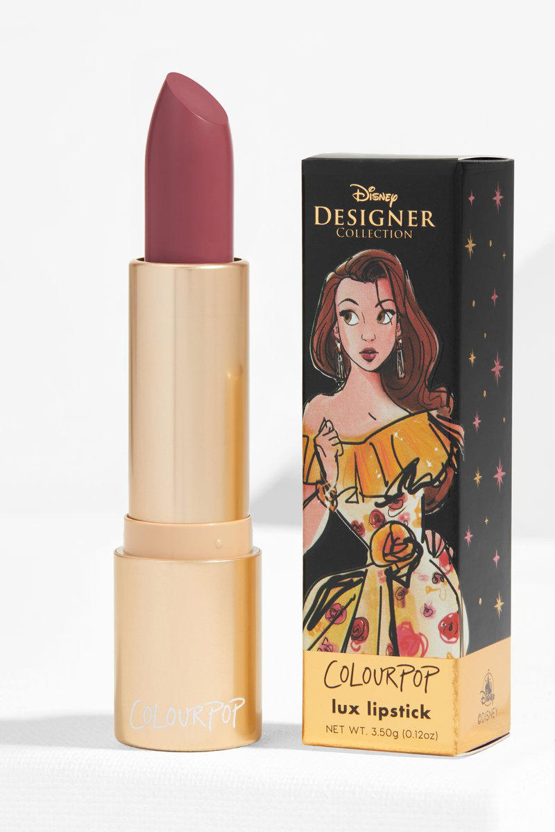 Colourpop Disney Princess Designer Makeup Collaboration Lipstick Belle