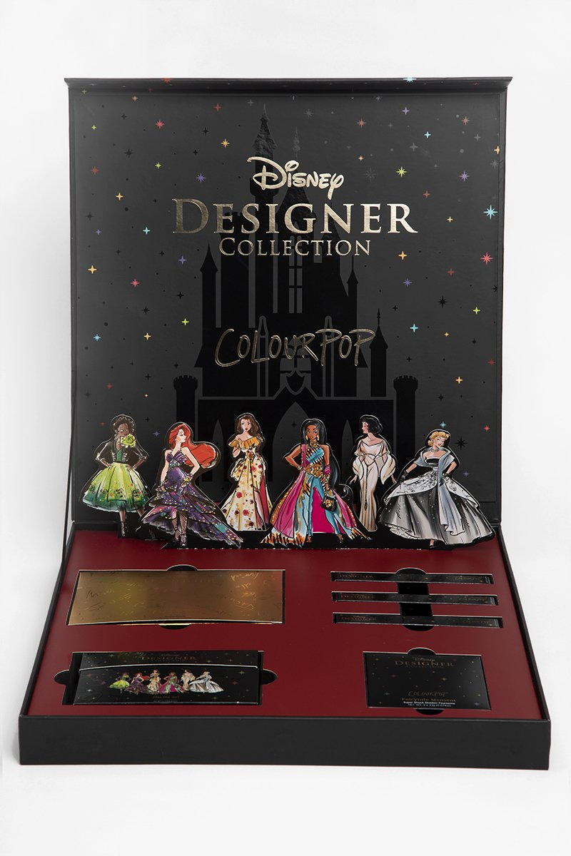Colourpop Disney Princess Designer Makeup Collaboration Full