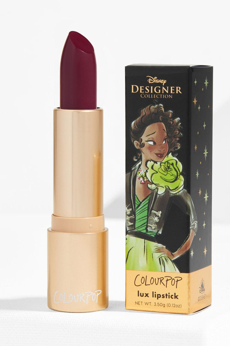Colourpop Disney Princess Designer Makeup Collaboration Lipstick