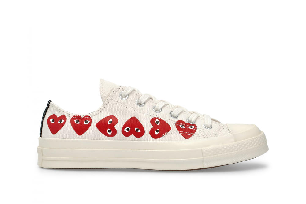 COMME des GARCONS x Converse All Star Low Top White