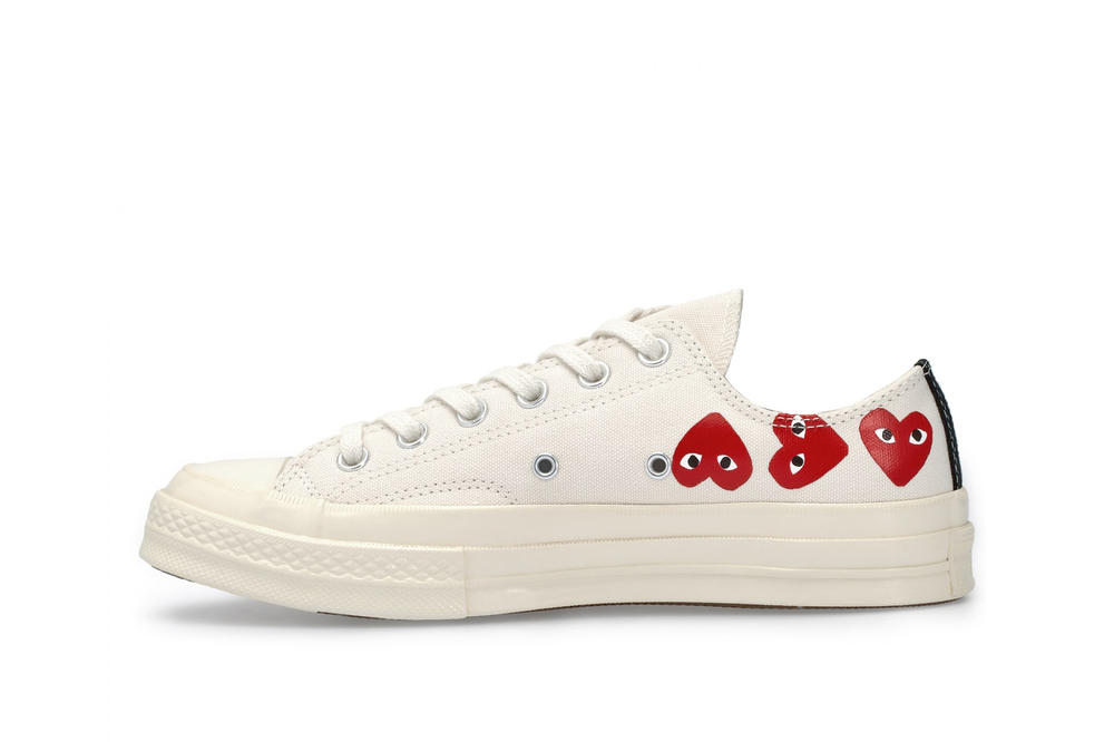 bfd339291561 COMME des GARCONS x Converse All Star Low Top White