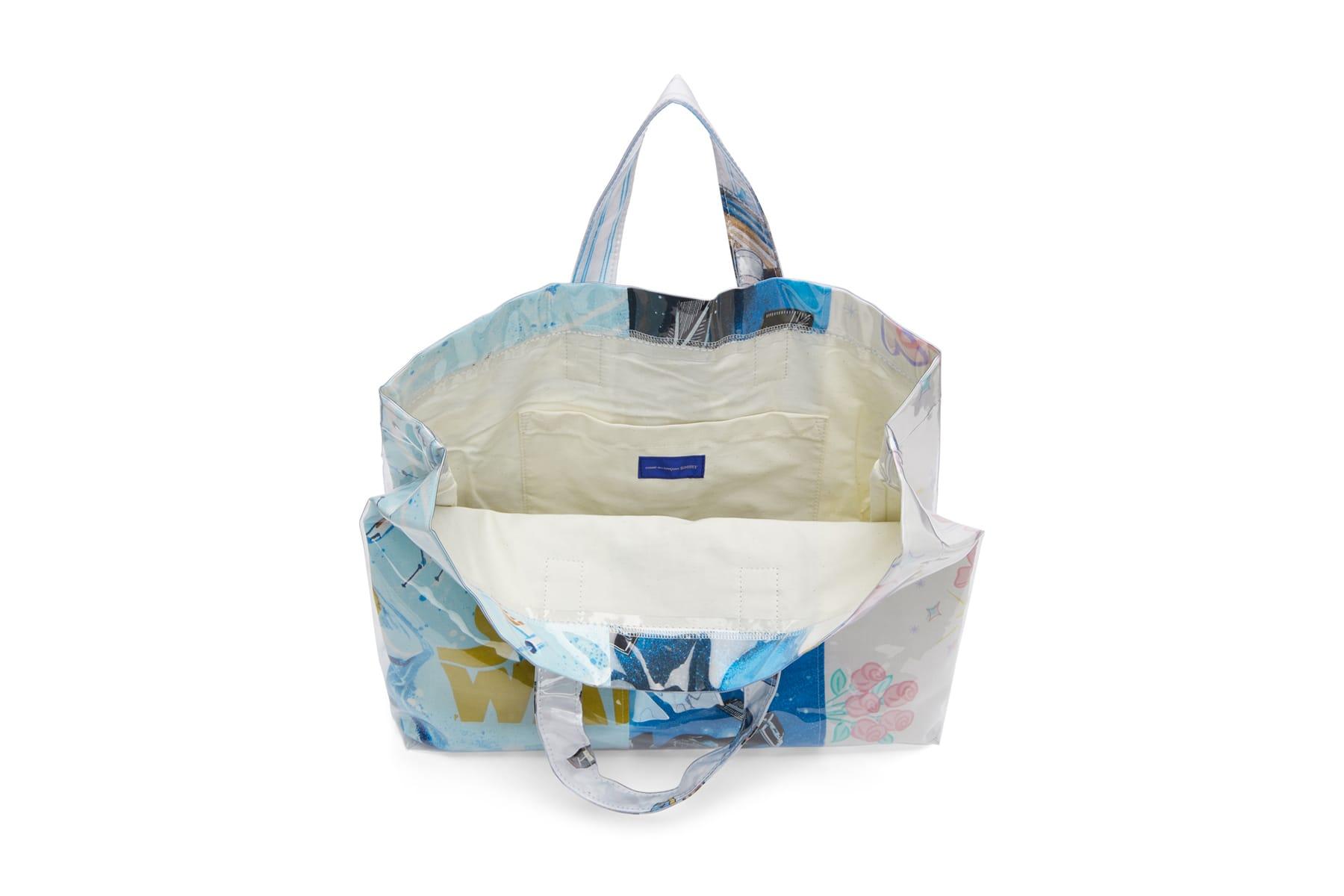 Comme Des Garcons Shirt Cdg Pvc Plastic Bedsheets Tote Bag 90s Star Wars  Barbie