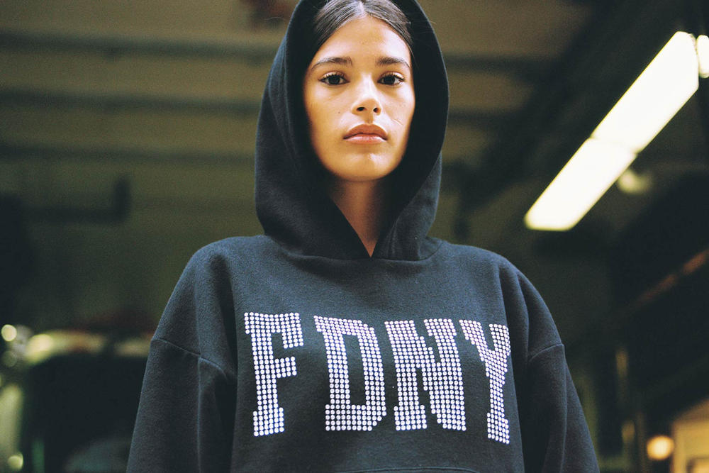 Danielle Guizio FDNY Lookbook