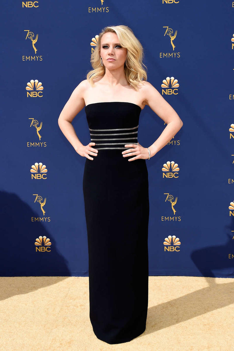 Emmys Emmy Awards 2018 Red Carpet Kate Mckinnon