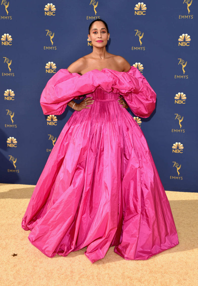 Tracee Ellis Ross Emmys Emmy Awards 2018 Red Carpet