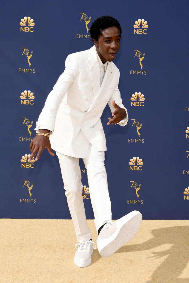 Caleb McLaughlin Emmys Emmy Awards 2018 Red Carpet