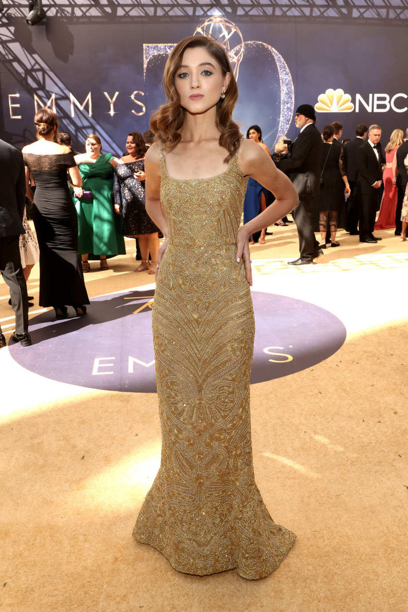 Natalia Dyer Stranger Things Emmys Emmy Awards 2018 Red Carpet