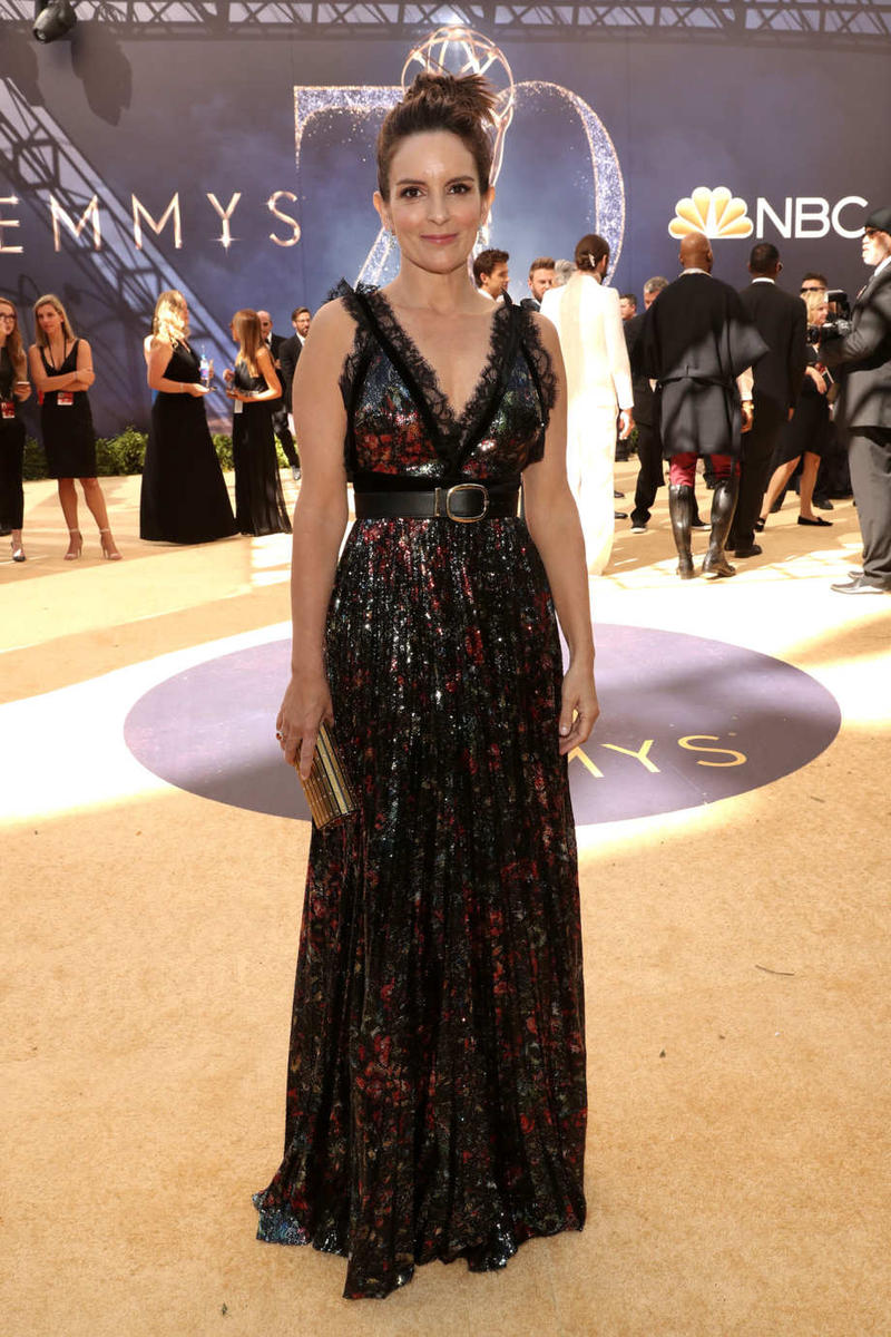 Emmys Emmy Awards 2018 Red Carpet Tina Fey