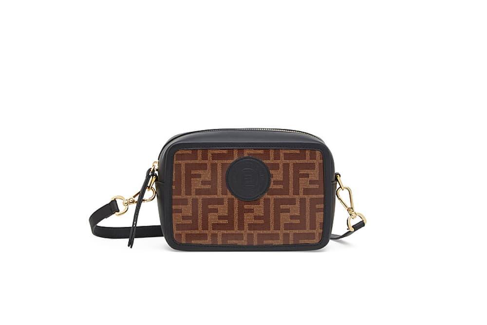 6dfb375574 Fendi Camera Treasure Logo Bags Designer Leather Purse Strap Gigi Hadid  Fashion