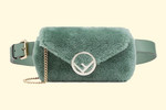 Picture of Fendi's Fuzzy, Pastel Mint Belt Bag Will Be Your New Best Friend