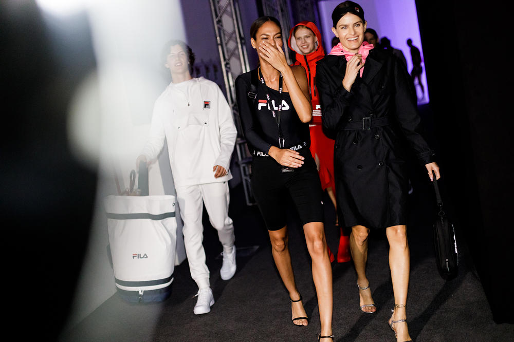 FILA SS19 Spring Summer 2019 Milan Fashion Week Backstage Behind The Scenes