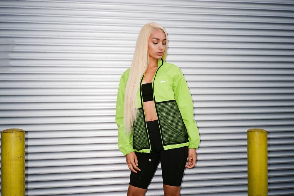 Frankie Collective Reworked Supreme Neon Green Jacket Windbreaker