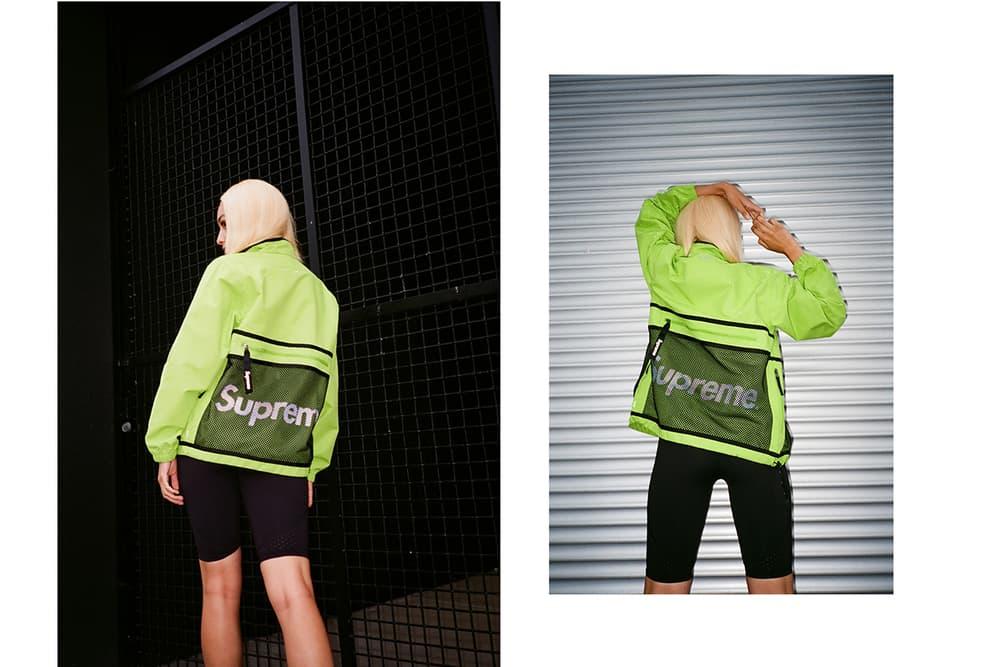 5d15970c27f Frankie Collective Reworked Supreme Neon Green Jacket Windbreaker