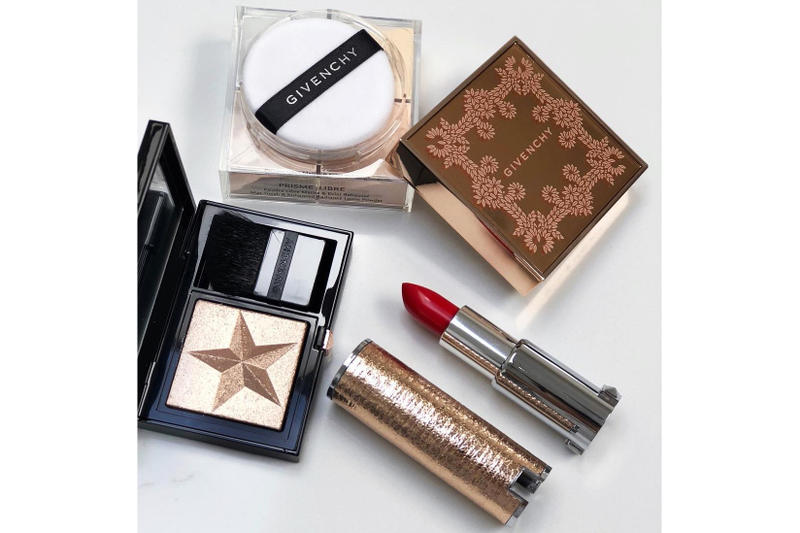 givenchy beauty holiday 2018 collection makeup highlighter matte lipstick loose powder