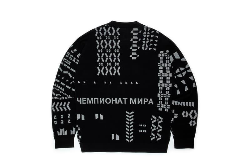Gosha Rubchinskiy Fall Winter 2018 Third Drop Levi's Dr Martens adidas Football