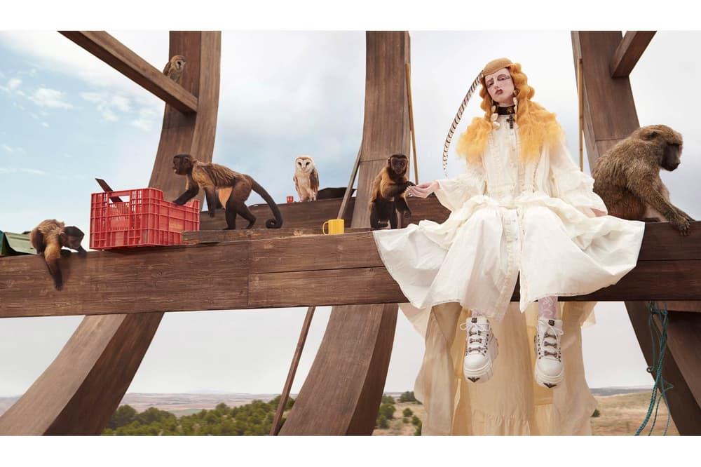 Gucci Cruise 2019 Campaign GucciGothic