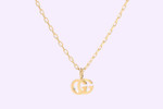 Picture of Gucci's Golden Double G Logo Necklace Is a Luxe Statement Piece