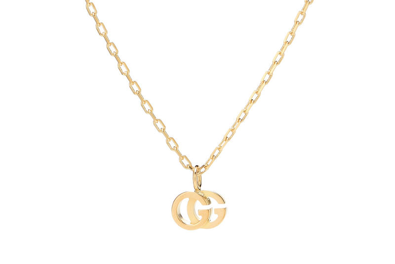 Gucci Double G Logo Gold Necklace