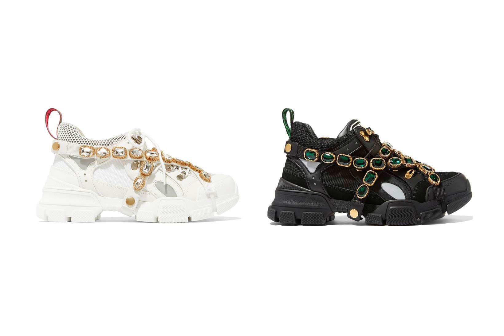 Flashtrek Sneaker in White and Black