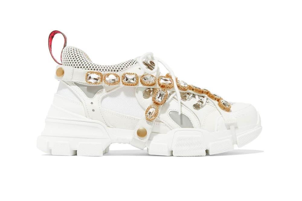 Gucci Flashtrek Sneaker White Black