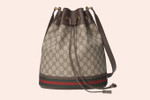 Picture of Gucci's Monogrammed Bucket Bag Is the Ultimate Fall Accessory