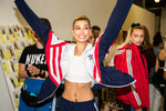 Picture of Go Behind-The-Scenes at Hailey Baldwin's JD x adidas Originals Falcon Show