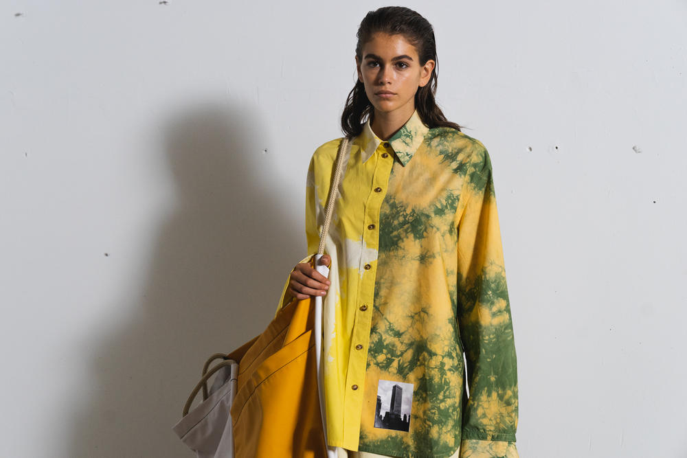Proenza Schouler SS19 Spring Summer 2019 New York Fashion Week Backstage Footage Kaia Gerber