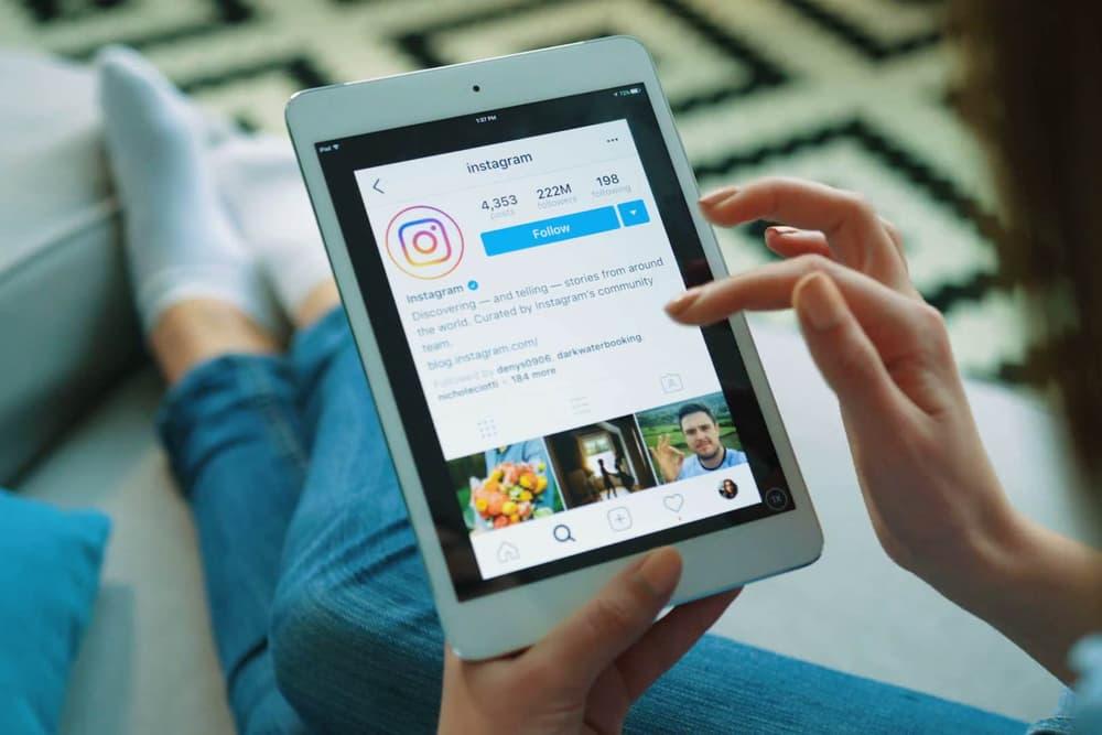 Instagram Social Media App Images iPad Tablet Apple Sharing