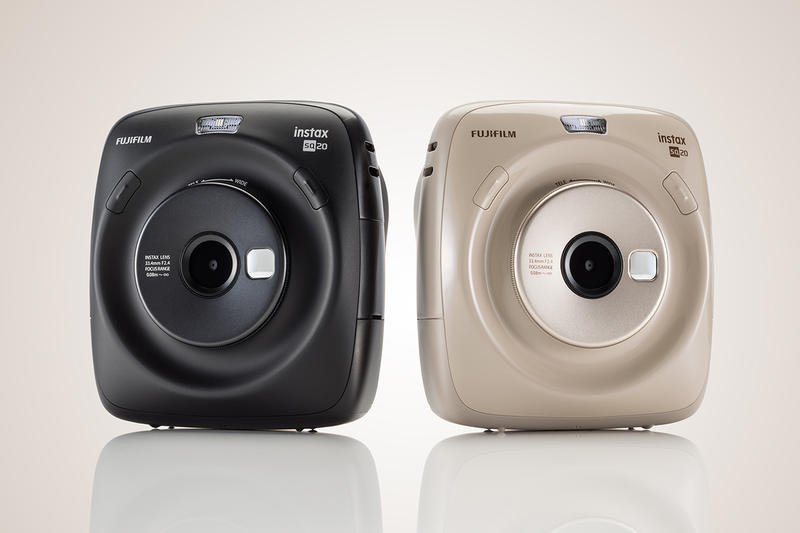 Fujifilm New Instax SQUARE SQ20 Instant Camera Black Beige