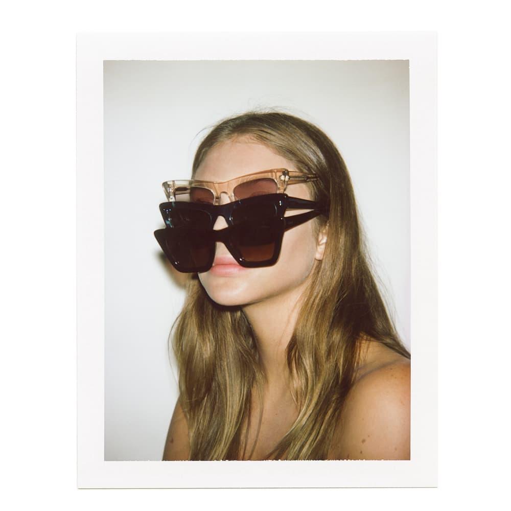 Jessie Andrews x KOMONO Sunglasses Collaboration Shades Lookbook Capsule Collection