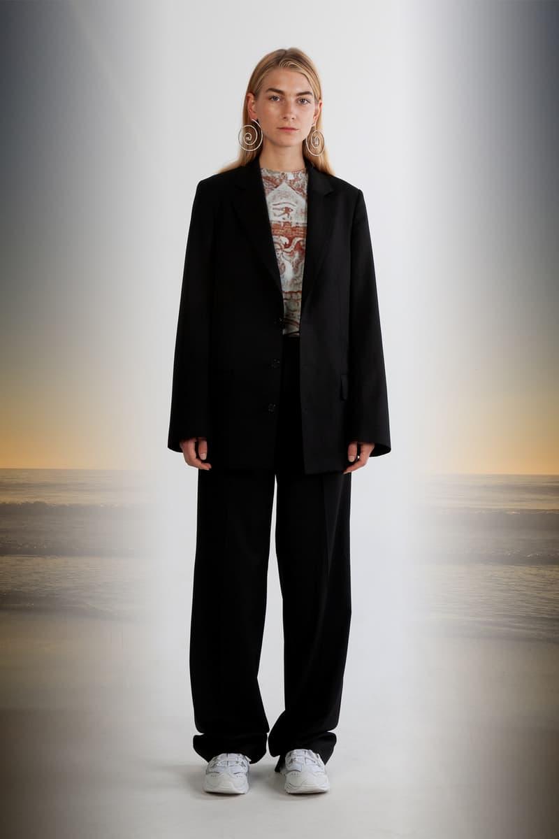 Julia Seeman Fall/Winter 2018 Collection Lookbook Blazer Trousers Black