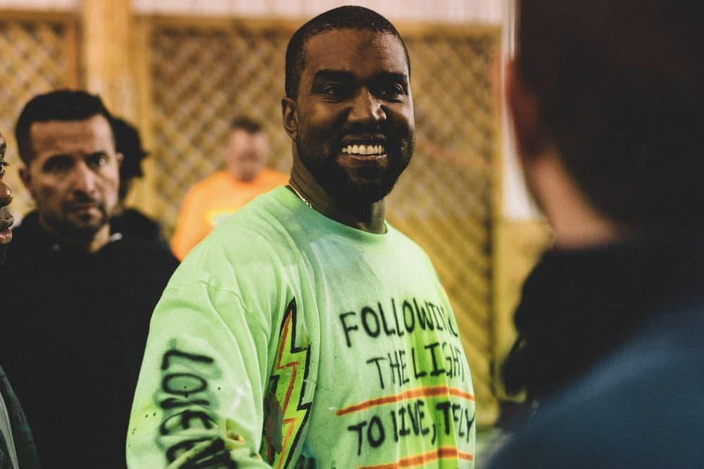 Kanye West ye Album Listening Party Wyoming Shirt Green