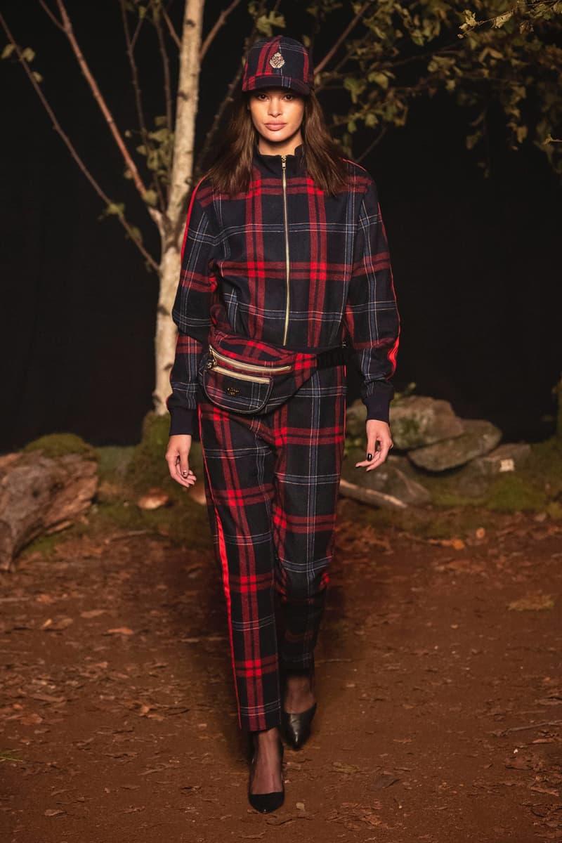 KITH 2018 Fall Winter NYFW New York Fashion Week Plaid Shirt Pants Red Blue
