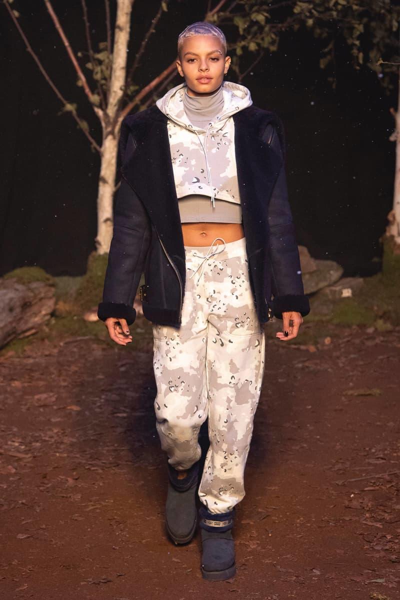 KITH 2018 Fall Winter NYFW New York Fashion Week Camouflage Hoodie Pants Grey White