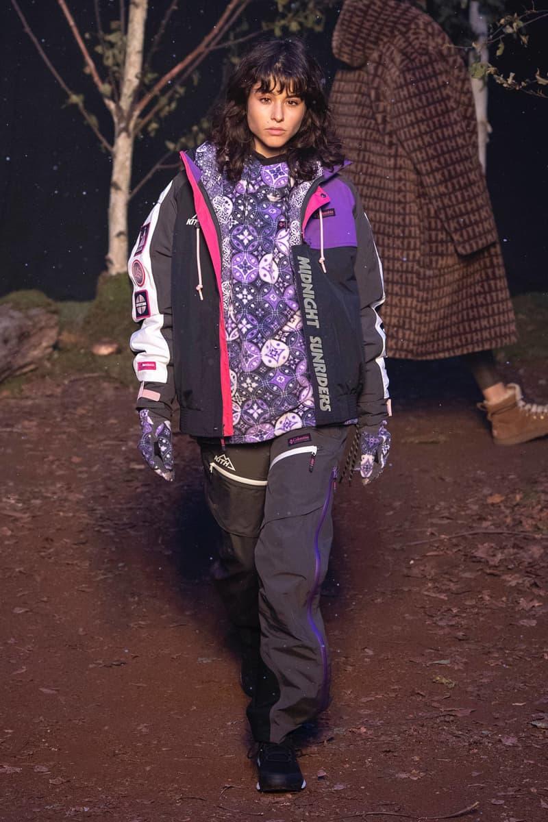 KITH 2018 Fall Winter NYFW New York Fashion Week Jacket Pants Black Purple