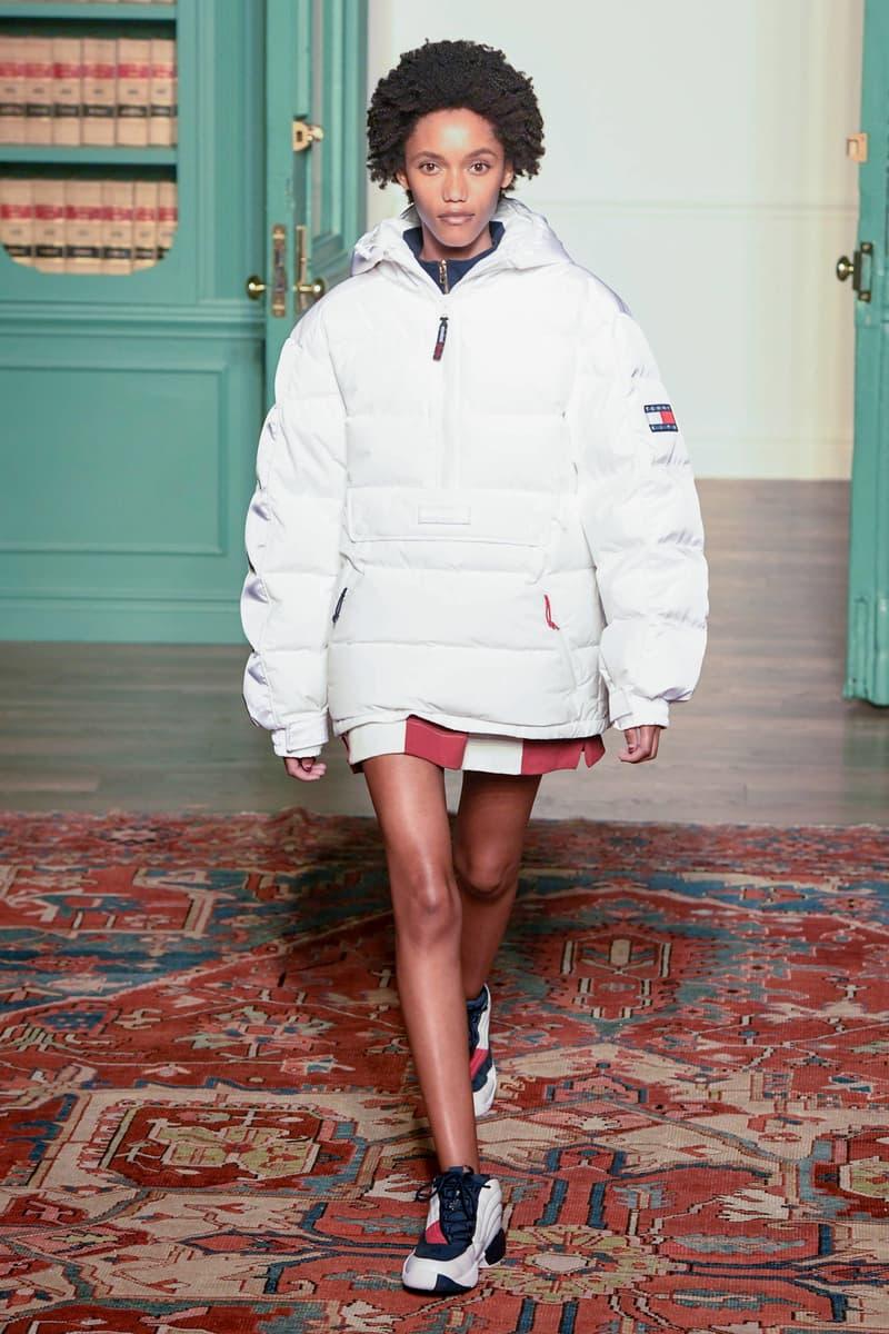 KITH 2018 Fall Winter NYFW New York Fashion Week Tommy Hilfiger Jacket White