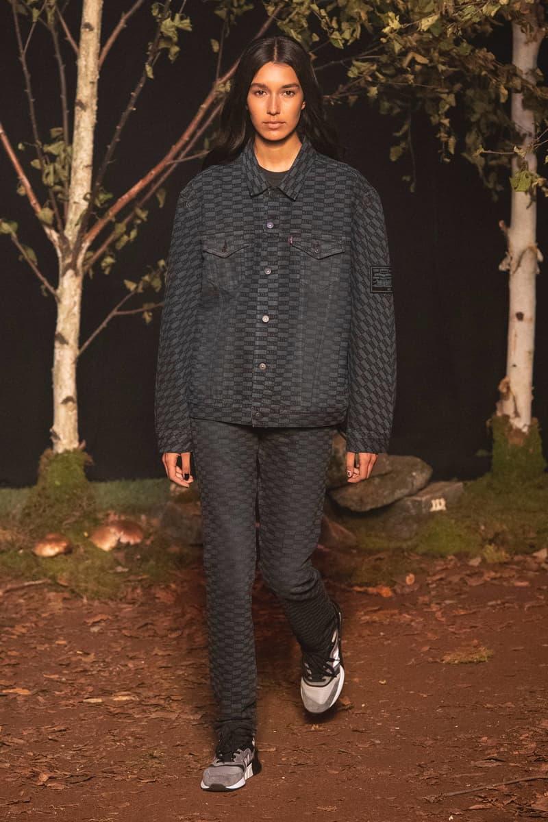 KITH 2018 Fall Winter NYFW New York Fashion Week Denim Jacket Pants Black